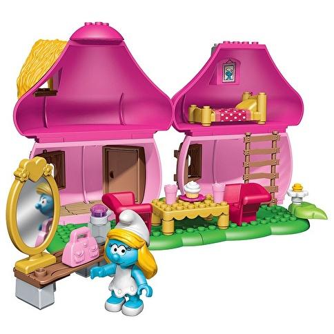 Mega Bloks Mega Bloks Şirinler Şirine'Nin Mantar Evi Renkli
